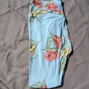 Lularoe Vintage Floral Leggings